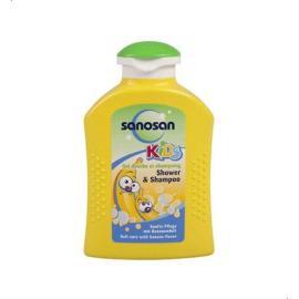 Sanosan Banana Shampoo & Shower Gel For Kids - 250 Ml