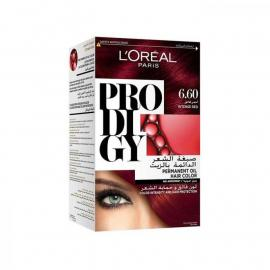 L'Oreal Paris Prodigy Ammonia Free Hair Color - 6.60 Intense Red