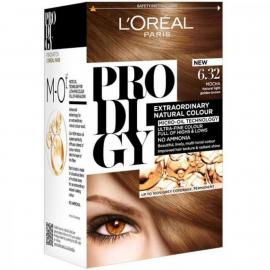 L'Oreal Paris Prodigy Hair Color - 6.32 Pearl Brown / Dark Golden Blonde