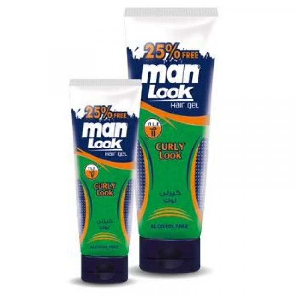 Man Look Hair Gel - Curly Look 250 gm