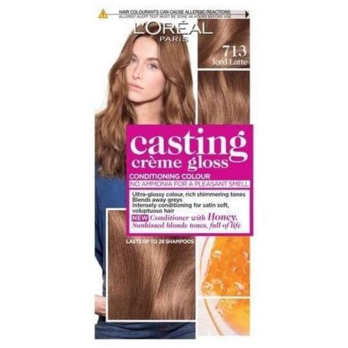 L'Oreal Paris Casting Crème Gloss Hair Color - 713 Iced Latte