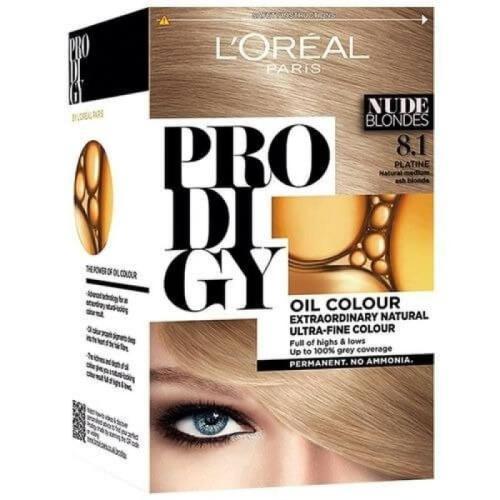 L'Oreal Paris Prodigy Ammonia Free Hair Color - 8.1 Light Ash Blonde