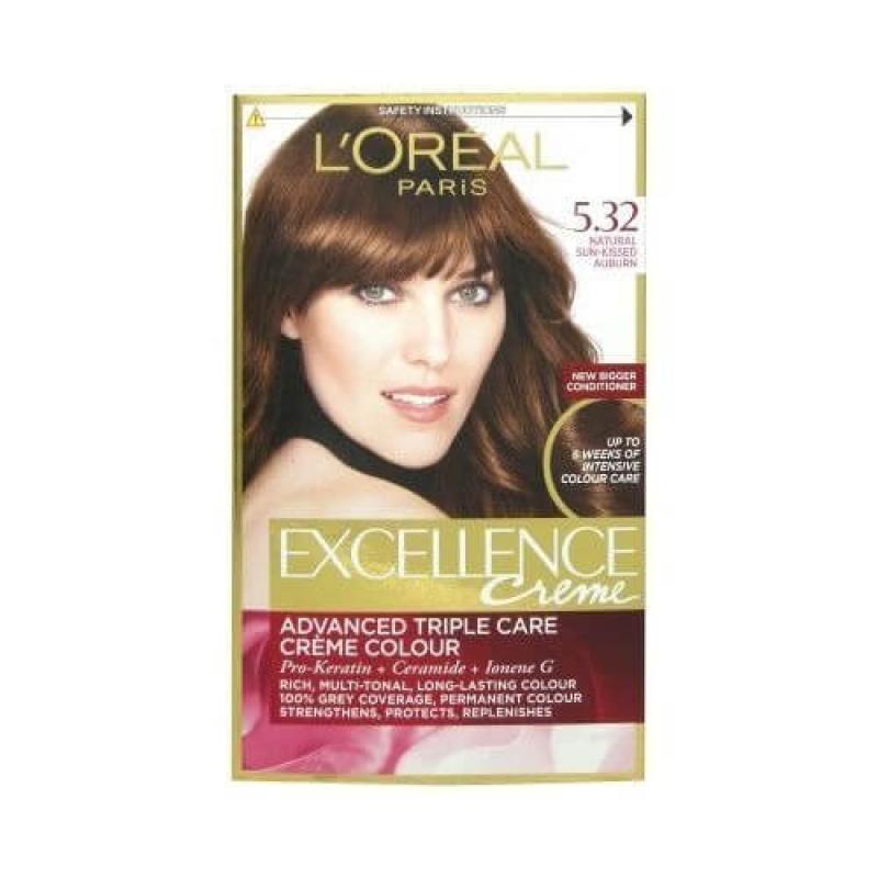 L'Oreal Paris Excellence Crème Hair Color - 5.32 Solar Brown