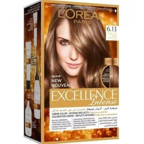 L'Oreal Paris Excellence Crème Intense Hair Color - 6.13 Cool Dark Blond Haircolor