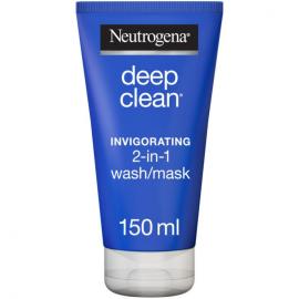 Neutrogena Deep Clean 2 N1 Invigorating Wash Mask - 150ml