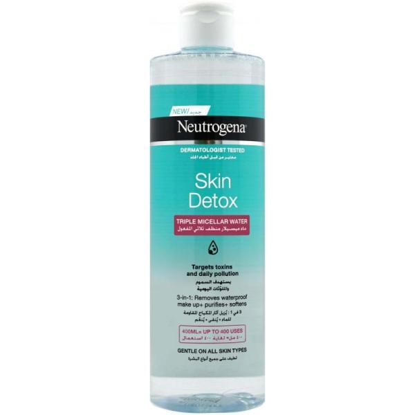 Neutrogena Skin Detox Triple Micellar Water - 400ml
