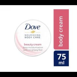 Dove Beauty Moisturizing Body Cream - 75 ml