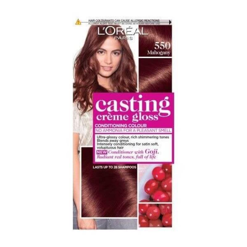 L'Oreal Paris Casting Crème Gloss Hair Color - 550 Mahogany