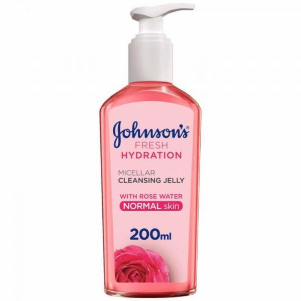Johnson's Fresh Hydration Micellar Cleansing Jelly - For Normal Skin - 200ml