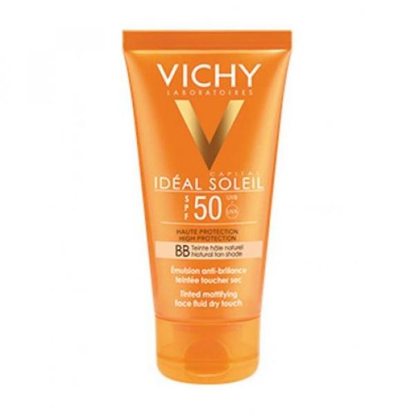 Vichy Ideal Soleil Bb Tinted Fluid Dry Touch Spf 50 - 50 ml