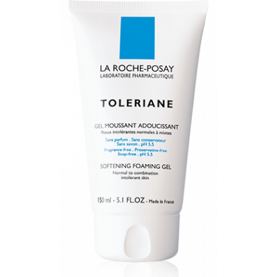 150ml TOLERIAN softening foaming gel sensitive skin