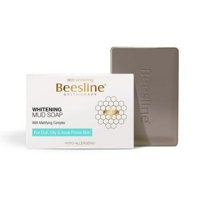 Beesline Whitening Mud Soap, 85g