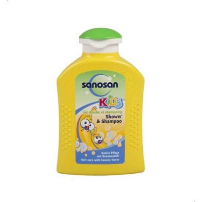 Sanosan Banana Shampoo & Shower Gel For Kids - 250 Ml