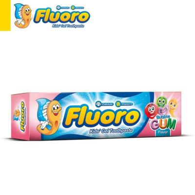 Fluoro Kids Toothpaste with Bubble Gum flavour 50 gm