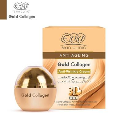 Eva Skin Clinic Gold Collagen Anti-Wrinkle Cream - 24K 50ml