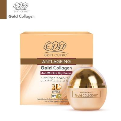 Eva Skin Clinic Gold Collagen Anti-Wrinkle Day Cream - 24K 50ml