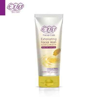 Eva Exfoliating Facial Wash Enriched With Honey for all skin types (150 ml)