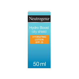 Neutrogena Moisturiser Hydro Boost City Shield Spf 25, 50Ml