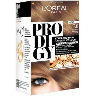 L'Oreal Paris Prodigy Ammonia Free Hair Color - 7.0 Blonde / Almond