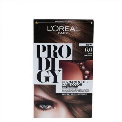 L'Oreal Paris Prodigy Ammonia Free Hair Color - 6.0 Dark Blonde