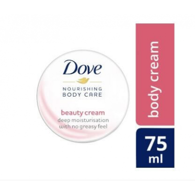 Dove Beauty Moisturizing Body Cream - 75 ml