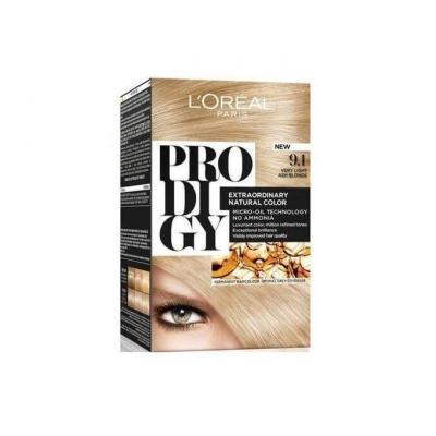 L'Oreal Paris Prodigy Ammonia Free Hair Color - 9.10 Very Light Blonde / White Gold
