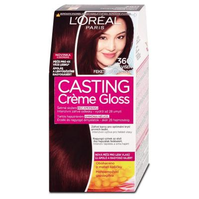 L'Oreal Paris Casting Crème Gloss Hair Color - 360 Dark Red