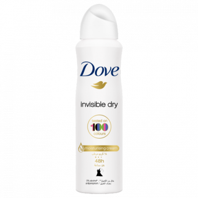 Dove Antiperspirant Deodorant Invisible Dry Spray - 150ml