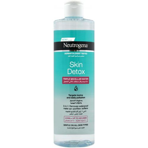 Neutrogena Skin Detox Triple Micellar Water - 400ml